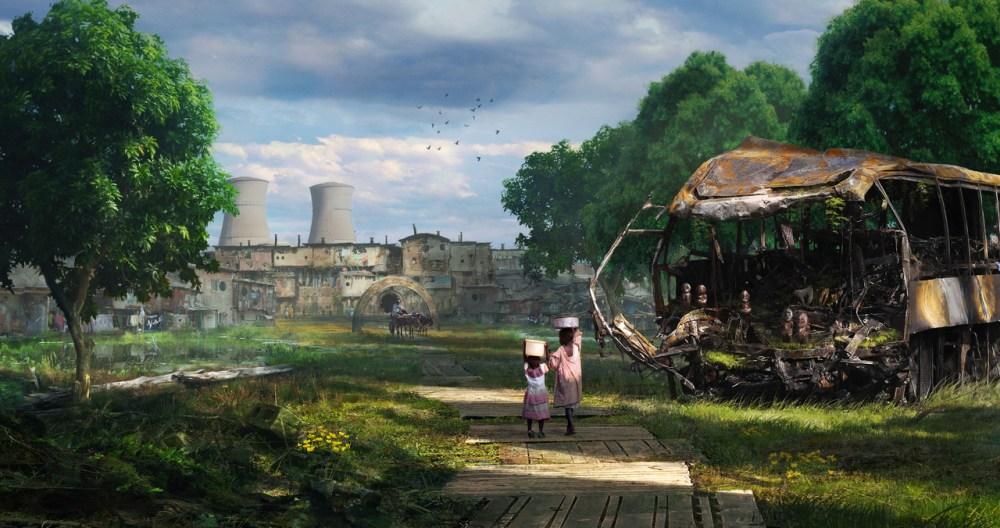 Swamp Slums 2 by Chander Lieve