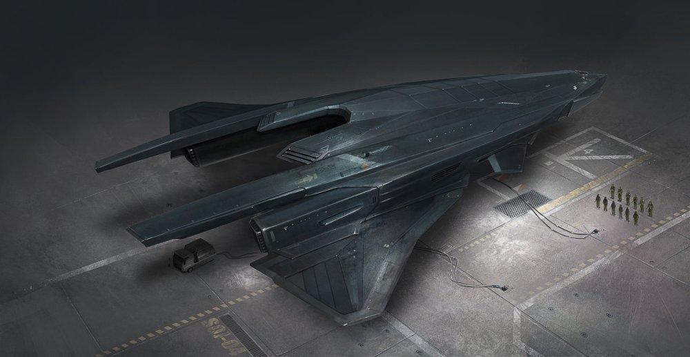 Artemis Sedt Shuttle by Pierre Raveneau