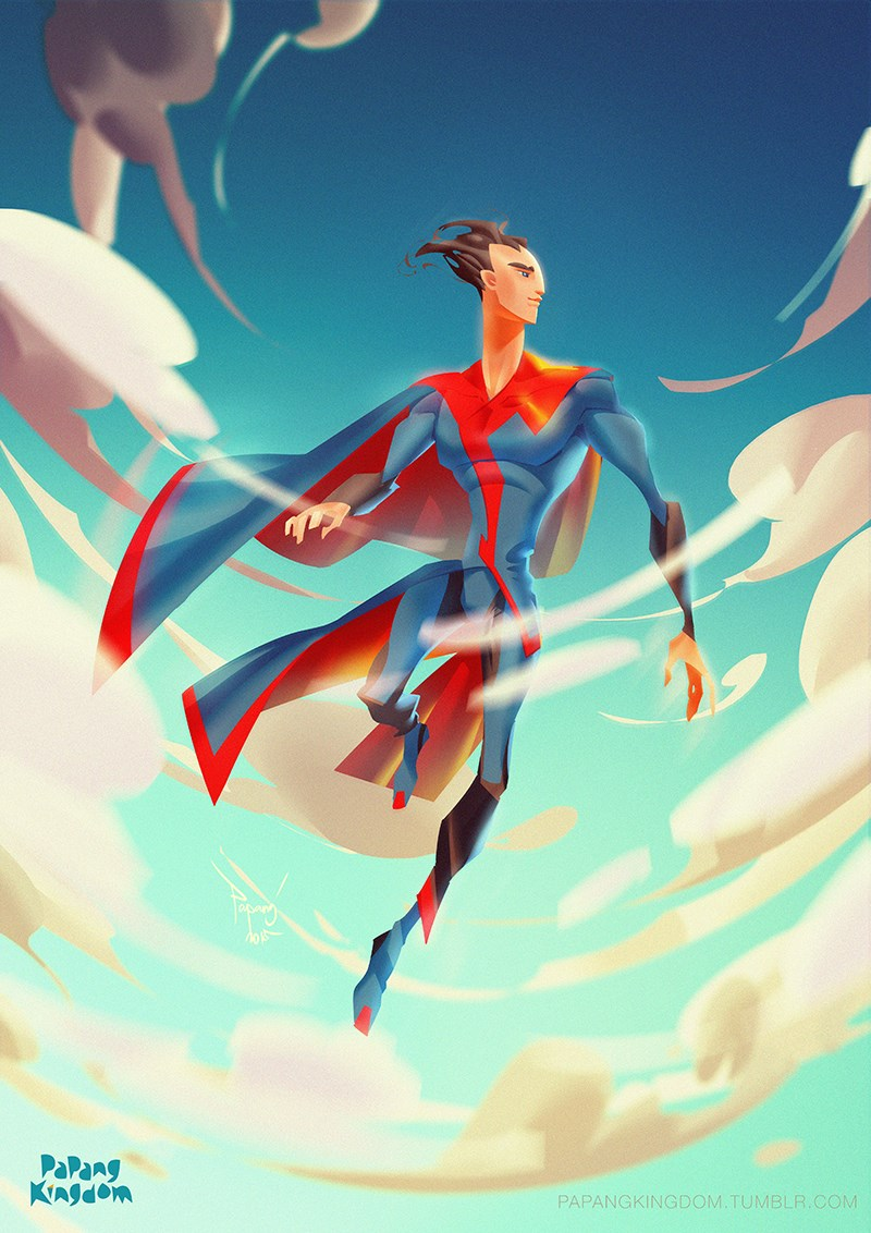 Superman Papang Jakfar