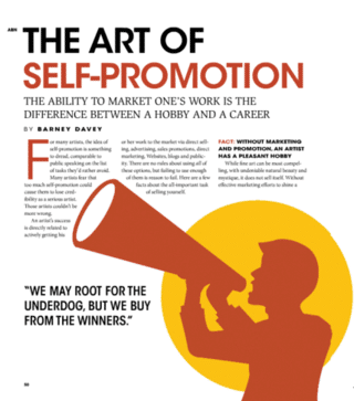 art of self-promotion