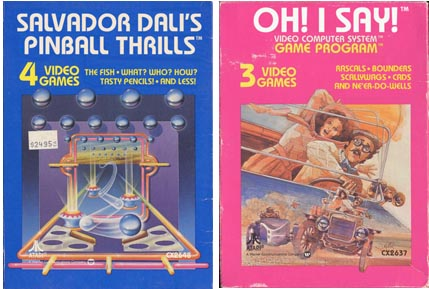 Altered Atari Titles