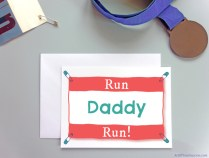 Run Daddy Run Card