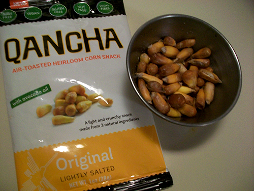 Qancha Air Toasted Corn Snack - Lightly Salted Original