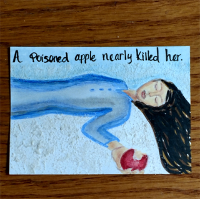 Six Word Stories - Poison Apple