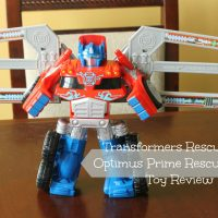 Transformers Rescue Bots Optimus Prime Rescue Trailer Review