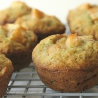 Cinnamon Apple Zucchini Muffins | Recipe