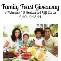 Family Feast Giveaway