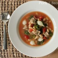 Pork and Bean Soup with Kale Recipe | Smithfield Marinated Pork