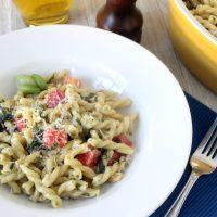 Pesto Fresco Pasta Recipe with Homemade Pesto