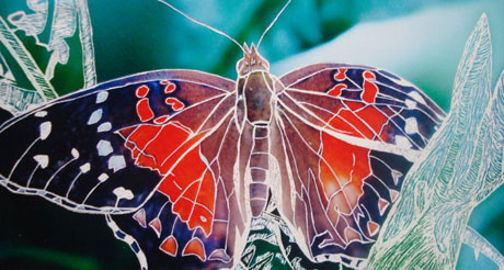A Magical Monarch View by Lisa Garness Mallory