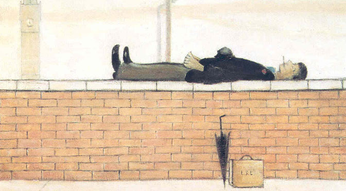 The work of LS Lowry in China for the first time