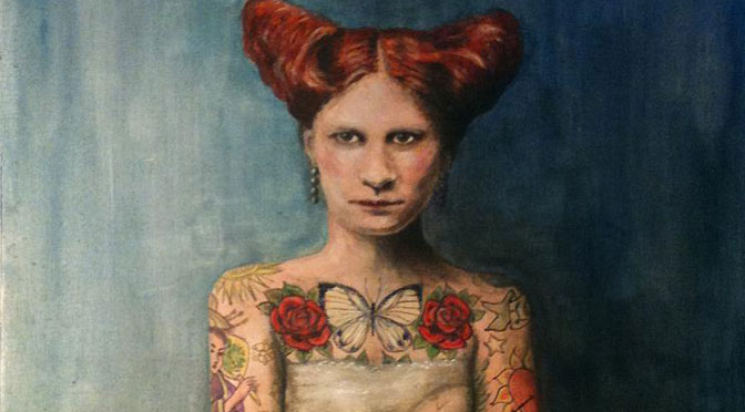 Tanya Morel creates a world of wry melancholy and tattooed women