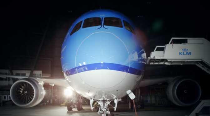 A new air of elegance: the KLM Boeing 787 Dreamliner
