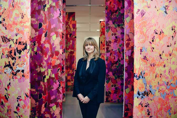 Acclaimed London-based textiles artist Emma Neuberg launches major new solo exhibition in Plymouth