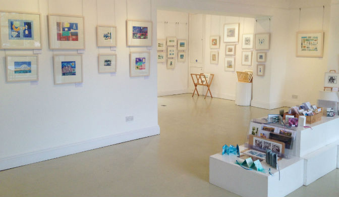 A Call to Artists: Art gallery available for hire in South Devon
