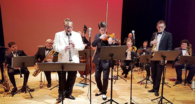Big band gets big reception: The Echoes of Ellington Big Band: 'Such Sweet Thunder'