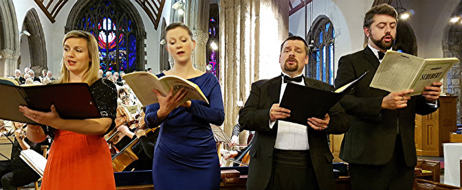 University of Plymouth Choral Society and Sinfonia in stirring form at the Minster Church of St Andrew