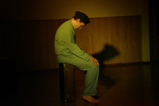 Broken Air Putting the Art into Dying: solo theatre performance inspired by Cornish artist Peter Lanyon at Barnstaple Fringfest