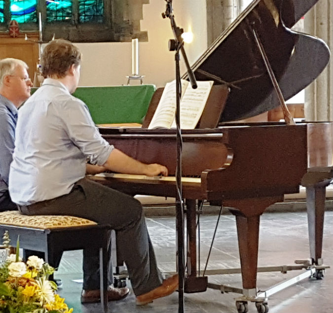 St Andrew's Lunchtime Summer Recital provides musical refreshment in a hot Plymouth