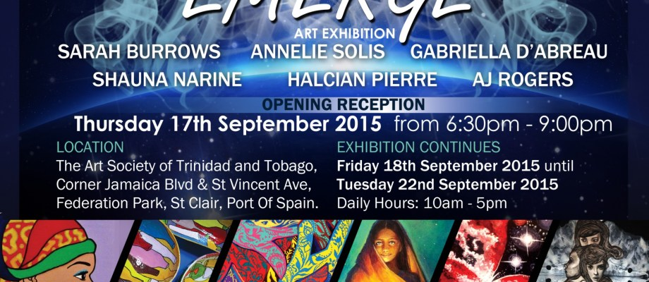 Emerge Exhibition September 17th