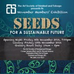 """""""Seeds For A Sustainable Future"""""""
