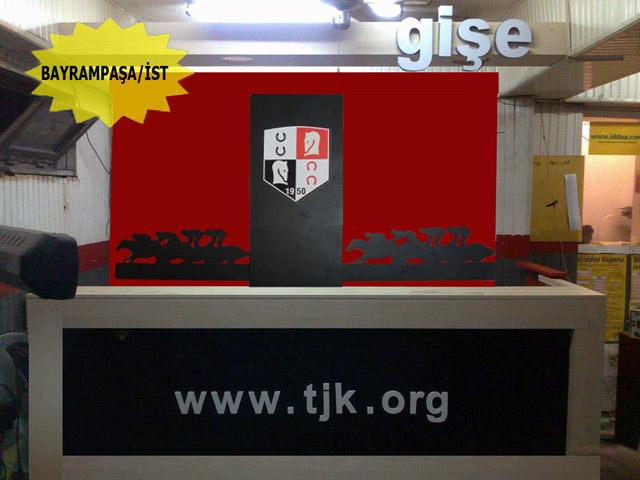 Tjk Ganyan Bayi yenileme projesi,Ganyan Banko,Ganyan Banko mobilya,Ganyan mobilya