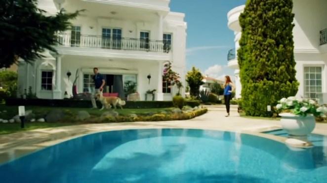 medcezir dizisindeki villa