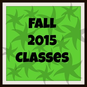 Fall 2015 Classes