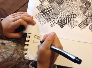 zentangle with examples
