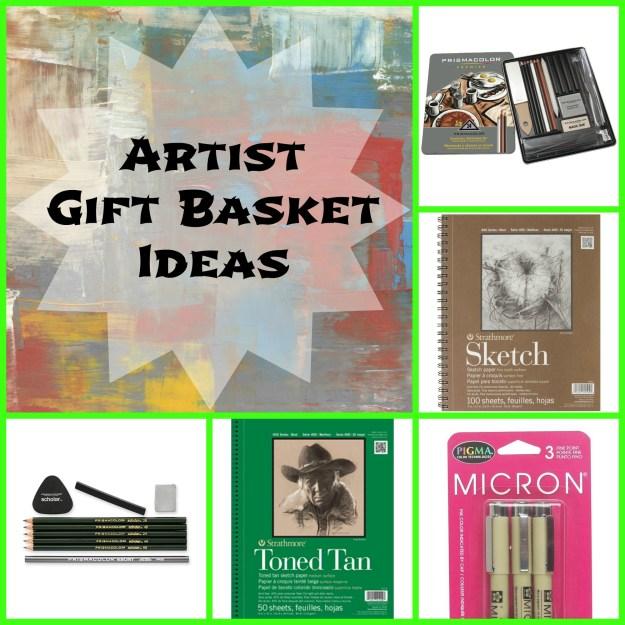 Artist gift basket ideas