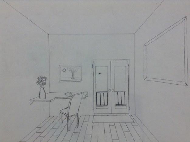 desk in detail