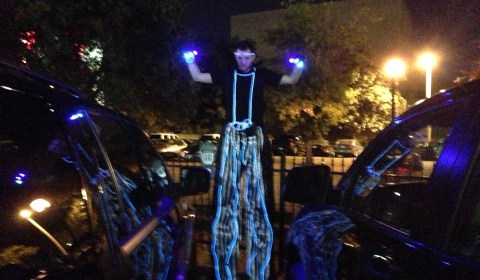 LED Stilt Walking