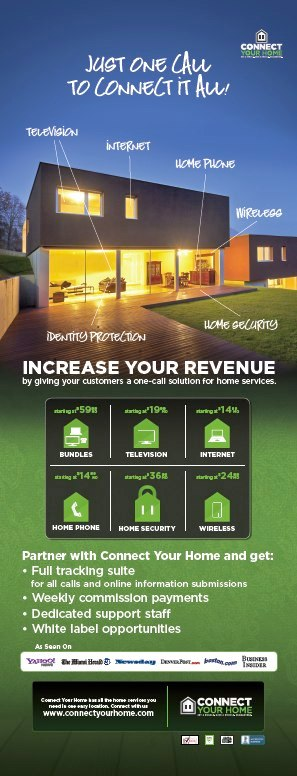 Flyer Design - Connect Your Home