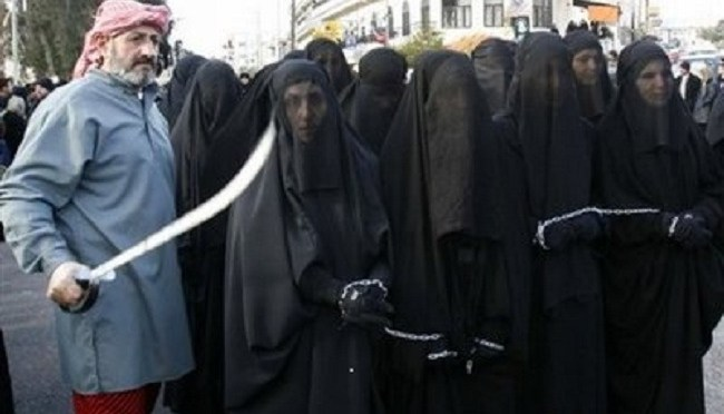 chained-muslim-women