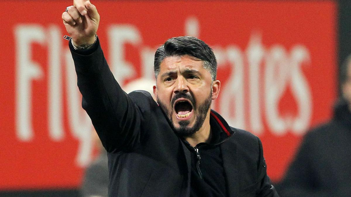 Image result for gattuso coach ac milan