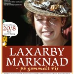 affisch Laxarby marknad2011
