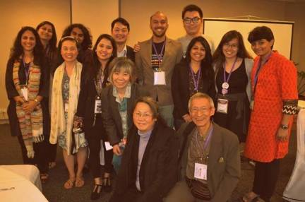 Youth Champions With The ASAP Team at the 7th APCRSHR, Manila