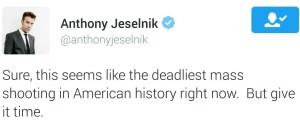 Anthony Jeselnik Gun Violence