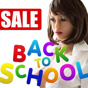 Sex Doll Back to School Sale Promotion