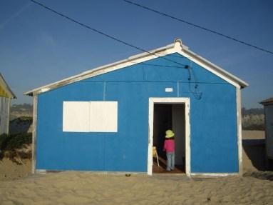 Costa de Caparica - Construção dunar