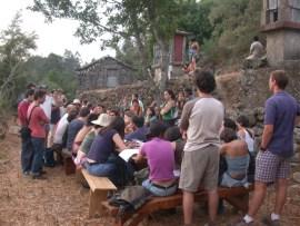 Trebilhadouro - Reunião de voluntários