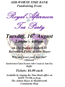 Royal Afternoon Tea Party Poster