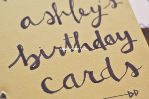 #HousewifeInsights DIY Card Binder