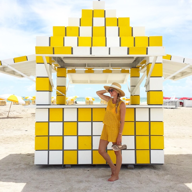 yellow miami beach
