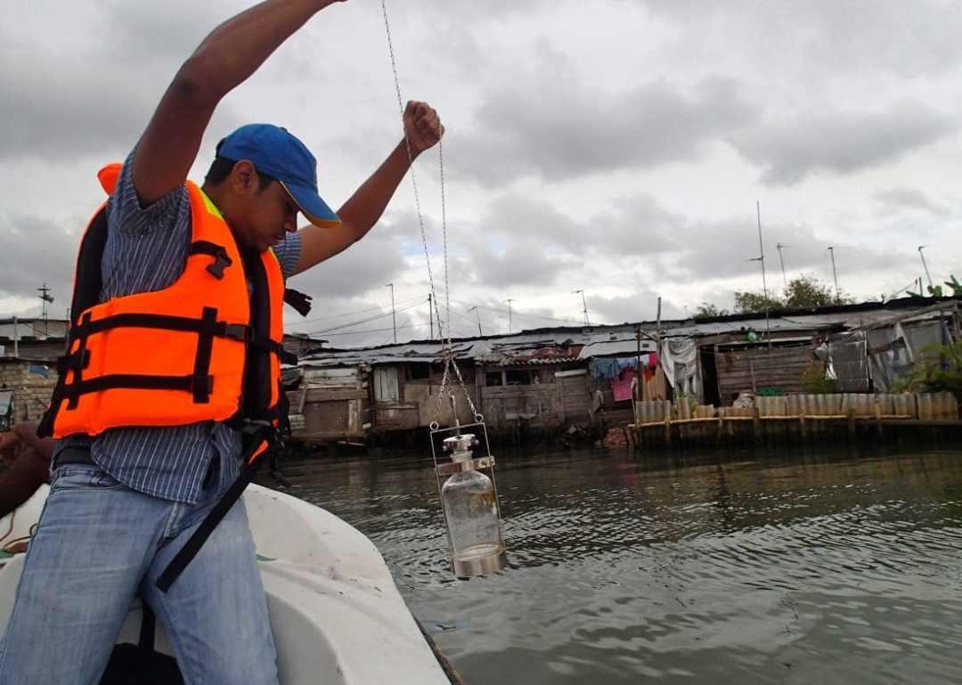 Kelani River water testing