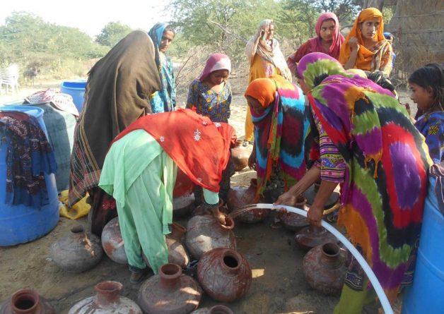 Water gathering