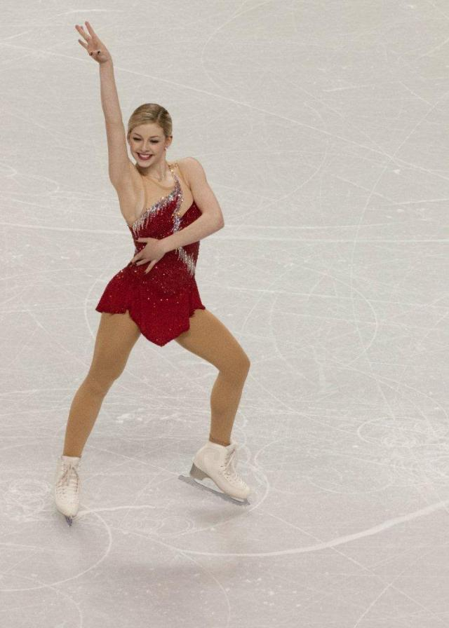 In third place, Mirai Nagasu could be left out in cold