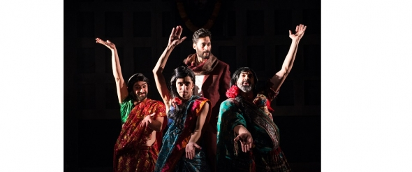 'Macbeth' with three hijras (drag queens)