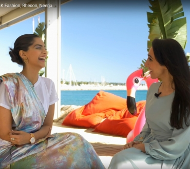 Cannes 2017: Sonam Kapoor on 'Veere Di Wedding', her Neerja acting award and her new fashion brand Rheson (Subscribe to our Youtube channel)