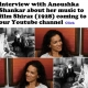 Anoushka Shankar interview about her music to silent restored BFI film Shiraz (1928) coming to our Youtube channel shortly…